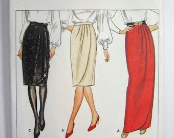 Butterick 4617 Misses' Skirt Sewing Pattern Sizes 8 - 16 Uncut