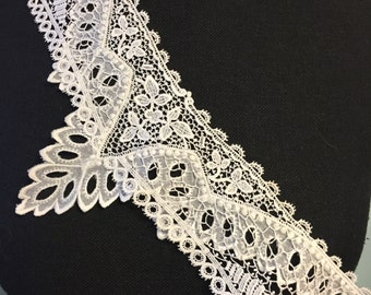 Victorian Lace Collar/Normandy Lace Collar/Bridal Lace Collar
