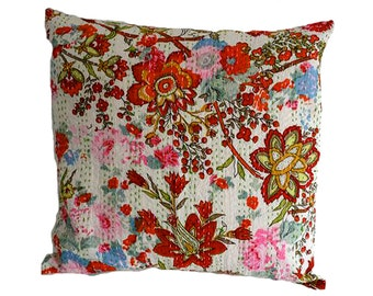 Cushion Cover - SMALL WHITE FLOWER