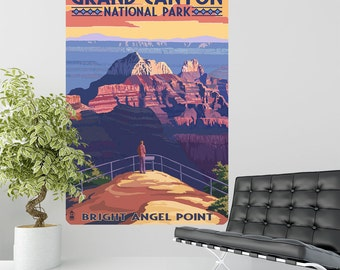 Grand Canyon Bright Angel Point Wall Decal - #60907