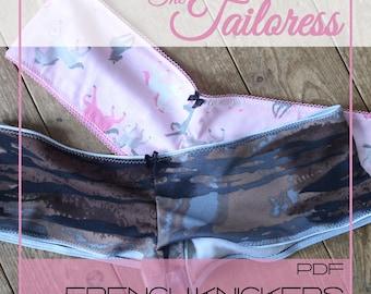 Jersey French Knickers PDF Sewing Pattern - Sizes 4-18