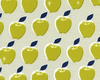 Cotton + Steel Picnic 0021 04 Apples Cream by Melody Miller