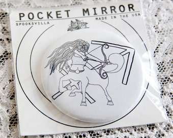 Astrology Pocket Mirrors: Sagitarrius