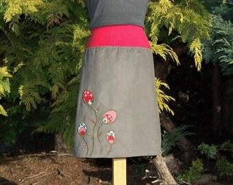 Ellie corduroy skirt