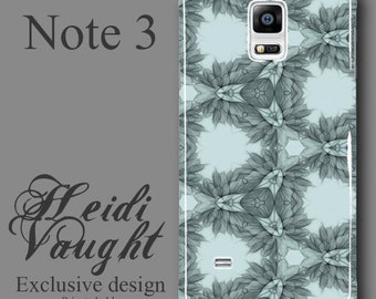 floral phone case, Note 3 phone case, floral pattern, original drawing iphone 5 and 6, unique cell phone case, phone case art, floral iphone