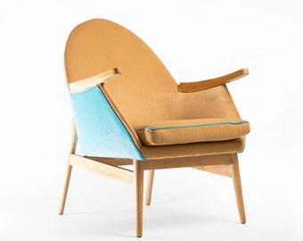 Fully restored armchair from 1960's
