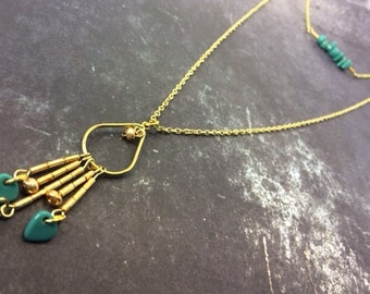 Layered Pendant Necklace