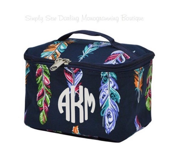 Great Personalized Gifts - Monogrammed Cosmetic Bag