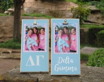 Delta Gamma Clip Frame