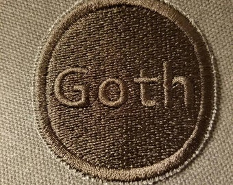 Goth Merit Badge