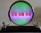 "Six Digit IN-12 Mantel Nixie Clock With Optional GPS Synchronization - ""Opal"""
