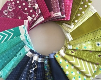 Simply Colorful II - fat quarter bundle