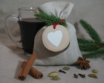 Mulled wine and wood washer Kit