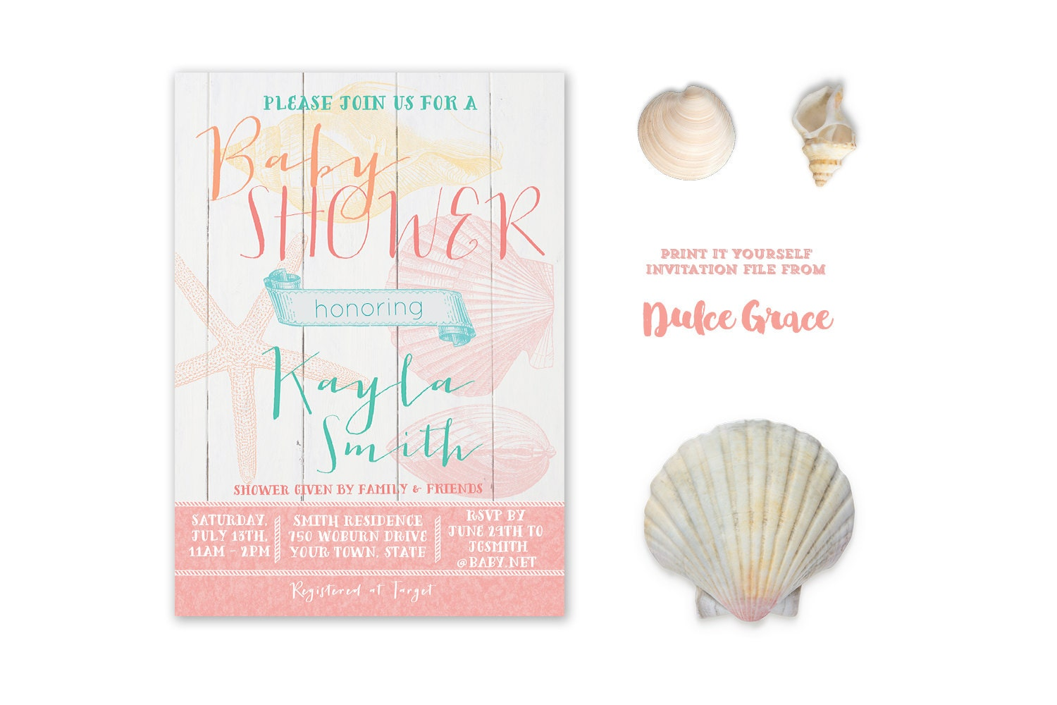 Beach party invite – Beach Themed Party Invitations
