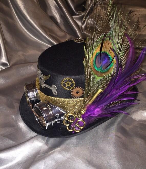 ddc4831e6cc Steampunk Hat, Steampunk, Costume, Mad Hatter, Cosplay, Victorian, Steampunk  Costume