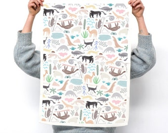 WILD TEA TOWEL