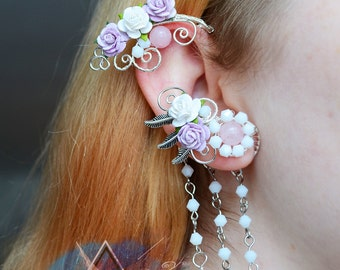 "Ear cuff ""Tenderness"""
