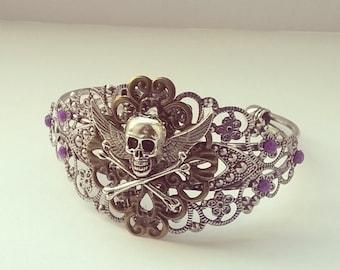 Gothic Skull Bracelet Jewellery Jewelry gift