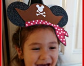 Pirate Mickey Party Hats birthday party hats Mickey Mouse Minnie Mouse