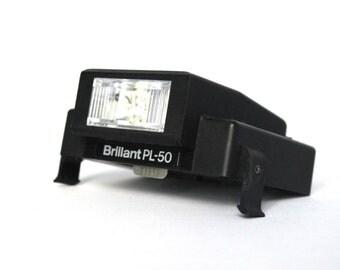 Polaroid flash Brillant PL 50 [for non foldable Polaroid type 1000 - 2000- 3000 - SX70]