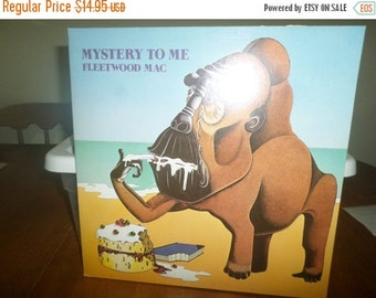 Save 30% Today Vintage 1973 Vinyl LP Record Fleetwood Mac Mystery to Me Near Mint Condition Reprise Records 5383