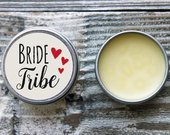 Bride Tribe Favors//Bride Tribe Gifts//Bachelorette Party Favors//Team Bride Favor//Bridesmaid Gifts//Lip Balm Favors