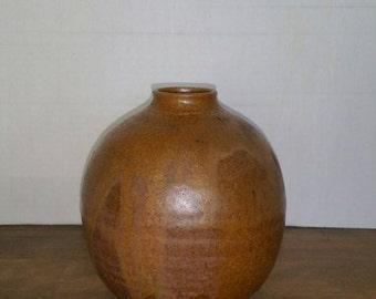 Vintage studio vase,  weed pot.