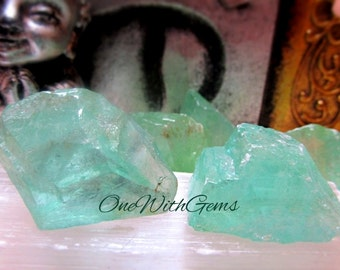 Green Calcite Healing Crystal, A+ Quality, Heart Chakra, Awareness Of Divine Love, Objective, Perspective, Clarity, Immune System