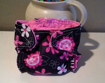 Handmade Diaper Cover with extra soaker