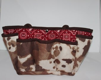Western Multi-pocket Diaper Bag