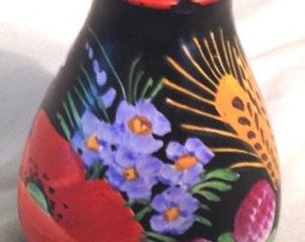 "Chodovia petite hand painted 3"" vase"