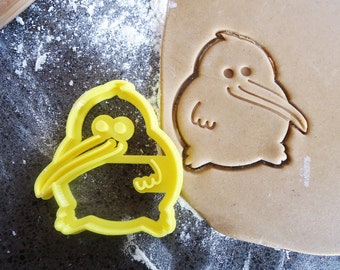 3D Printed Kiwi Bird Cookie Cutter