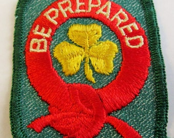 """Vintage """"1st Class"""" Girl Scout Badge circa 1950's"""