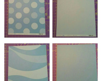 American Crafts 12x12 patterned paper and vellum collection