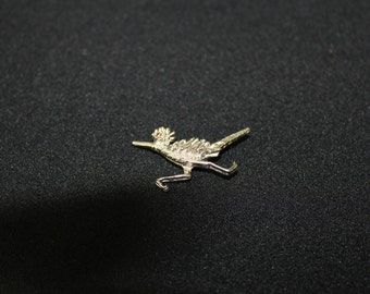 Silver tone Bird Pin