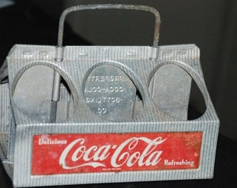 Coke Bottle Advertising Carrier