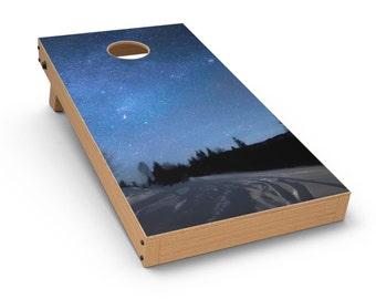 Drive all Night - Cornhole Board Skin Kit