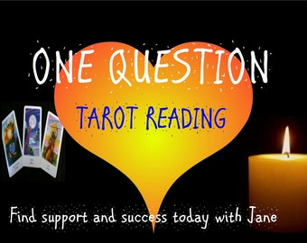 One Question Tarot Reading.
