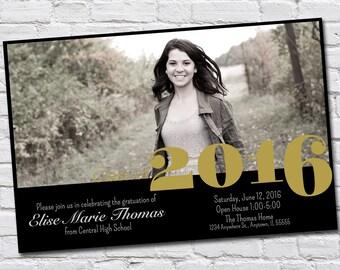 Custom Graduation Party Invitation/Announcement