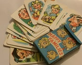 Kitsch Happy Families Card Game Cifford Series Vintage games Retro Toys