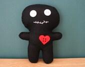 Hand Sewn Voodoo Doll Pin Cushion