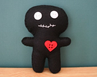 Hand Sewn Voodoo Doll Pin Cushion