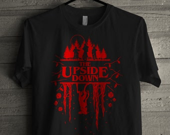 Stranger Things Tee - The Upside Down - Demogorgon Tee