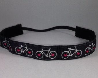 EmBands - Non-slip Cycling Headband, Workout Headband, Running Headband; No Slip Headband; Cyclist Headband; Triathalon Headband
