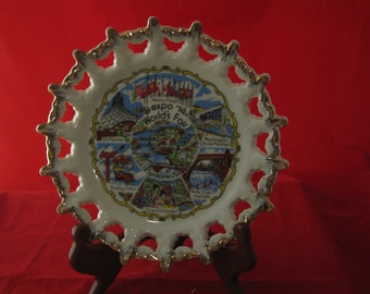 Collector plate Worlds Fair 1974 Spokand USA