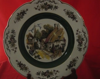 N ice old collector plate byWood and sons England