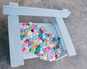 Secret Garden Flower Layering Blanket