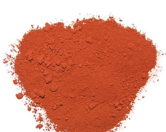 Burnt Sienna Pigment Powder for Artist Paints, Tempera Paints, Ink, Stamp Pads and other Craft Projects