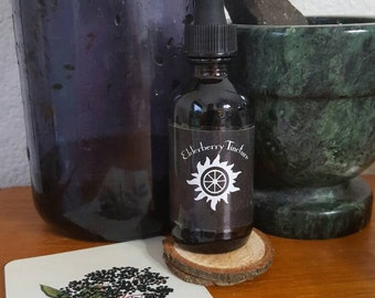 Elderberry Tincture 2 oz.