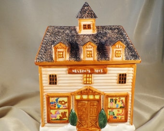 COOKIE JAR  ~  Nelson's Toys, Children's Toys,  Toy Shop, Hard to Find